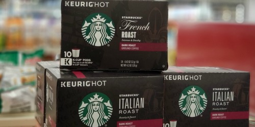 New Starbucks Coupon = K-Cups or Ground Coffee Only $4.99 at Walgreens