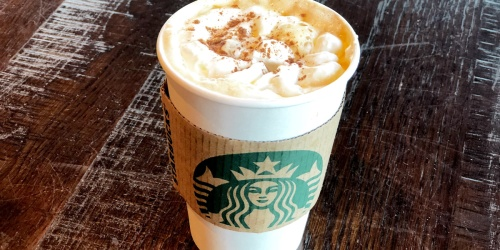 $10 Starbucks eGift Card ONLY $5 on Groupon (Select Email Subscribers Only)