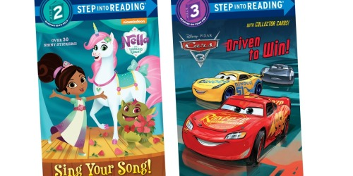 Step Into Reading Kids Books as Low as $1.48 | Disney, DC Superheroes & More