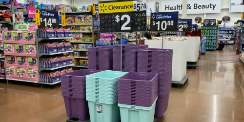 Sterilite 18 Gallon Storage Totes as Low as $1.50 at Walmart (Regularly $6) + More