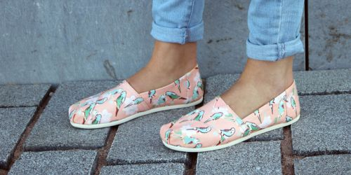 Up to 70% Off TOMS Shoes for the Family