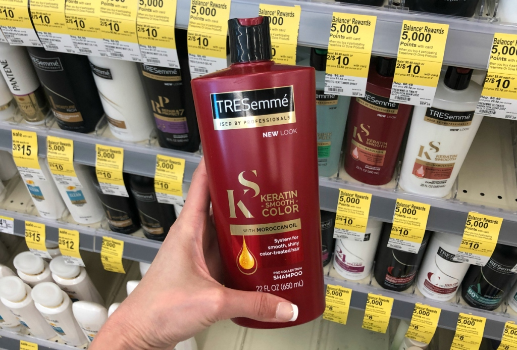 TRESemme moroccan oil variety