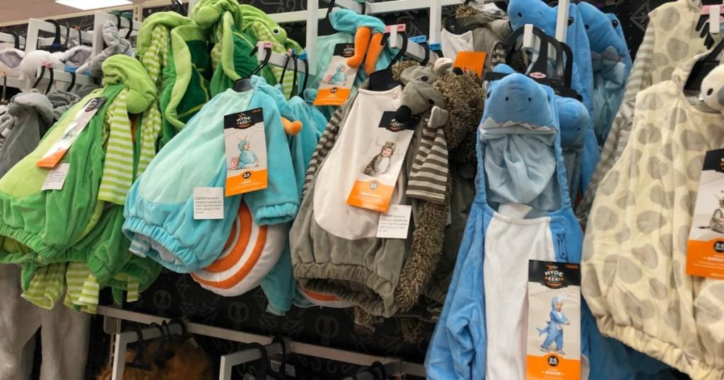 Target Baby Plush Costumes