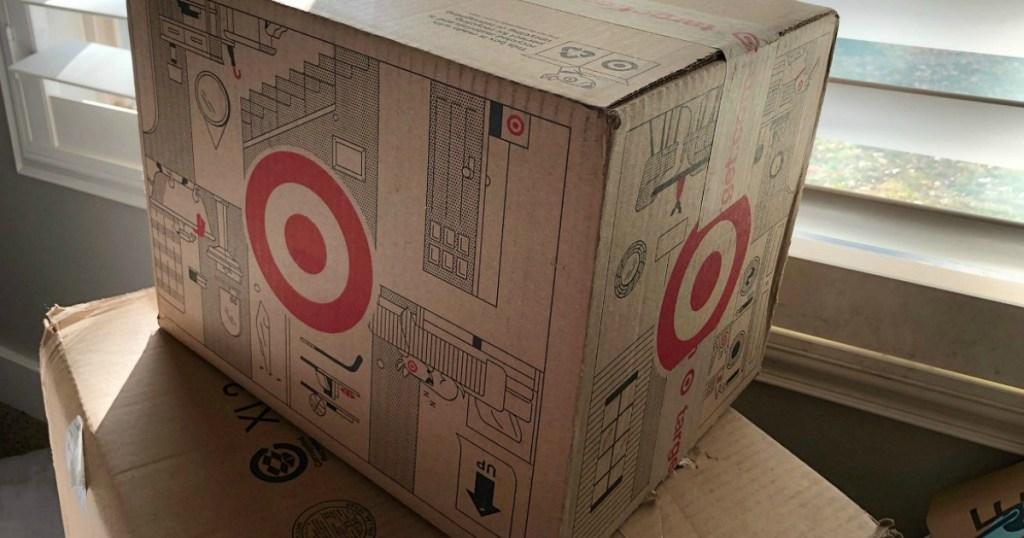 Target shipping box