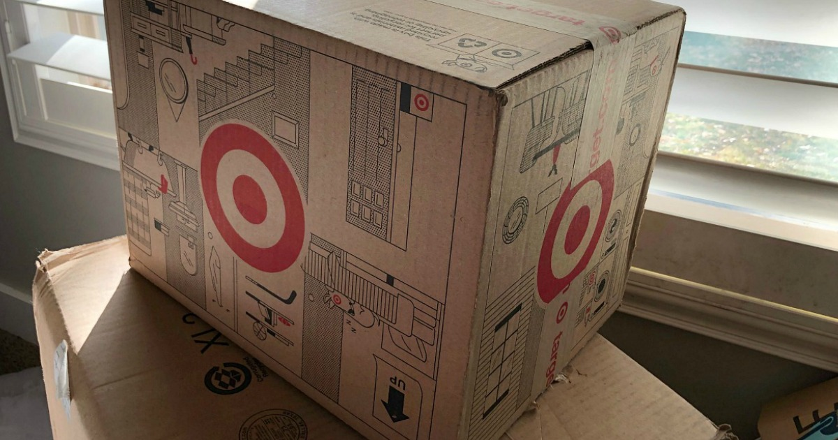 Target shipping boxes