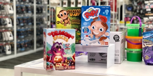 Up to 30% Off Popular Board Games at Target | Googly Eyes Showdown, Banana Blast & More