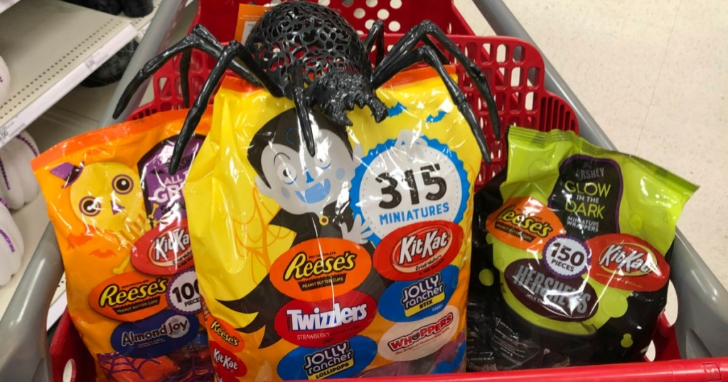 Halloween Candy in Target cart