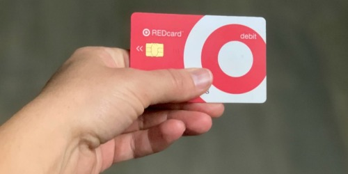 Target RED card Holders Stack TWO 5% Off Discounts