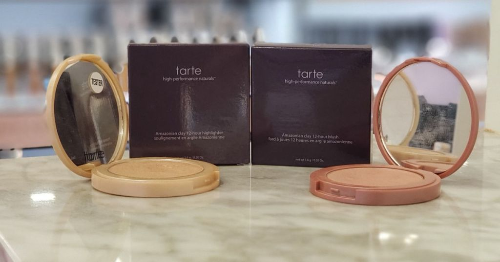 Tarte Blush and Highlighter Compact