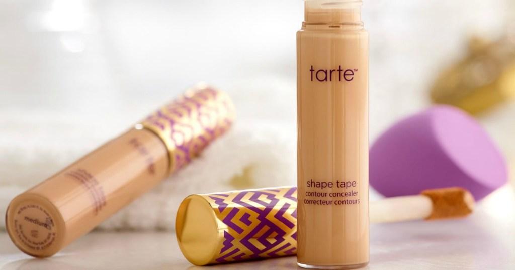 Tarte Shape Tape Concealer and blender