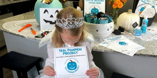 Why You Should Participate in the Teal Pumpkin Project this Halloween