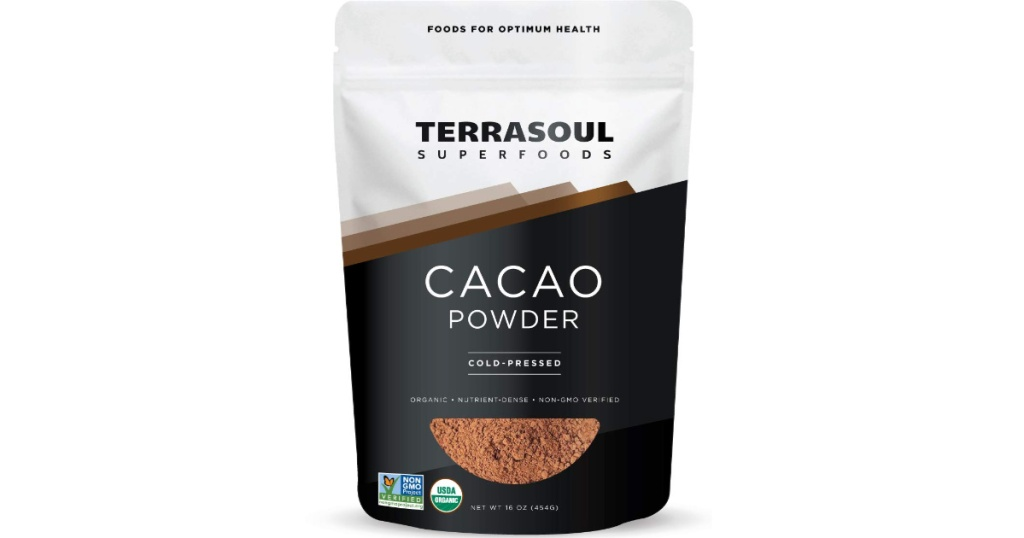 1 pound bag of superfoods raw organic cacoa poweder