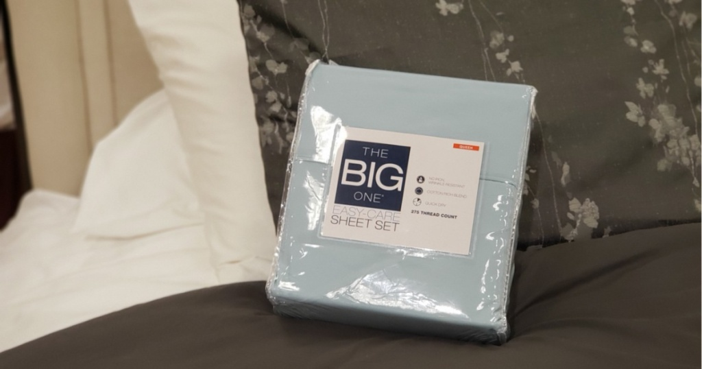 The Big One Easy Care Sheet set at Kohl's