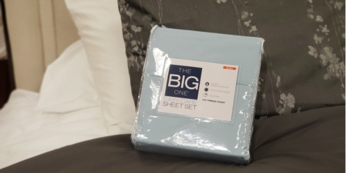 The Big One Sheet Sets – ALL Sizes Only $16.99 at Kohl's (Regularly up to $100)