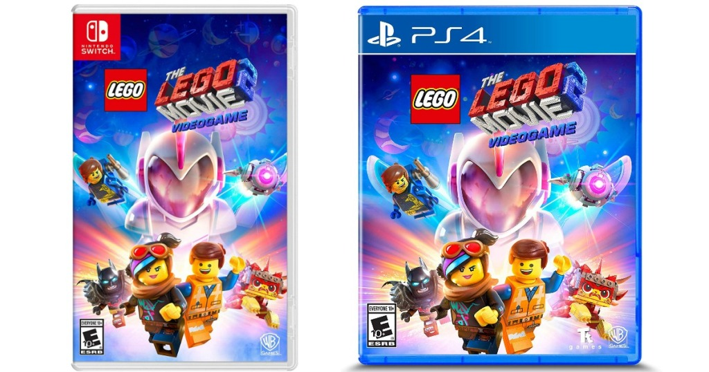 The LEGO Movie 2 Nintendo Switch and PS4 games covers