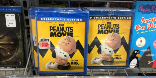TWO Family Blu-Ray Movies Only $10 at Best Buy | The Peanuts Movie, Rio, Ice Age & More