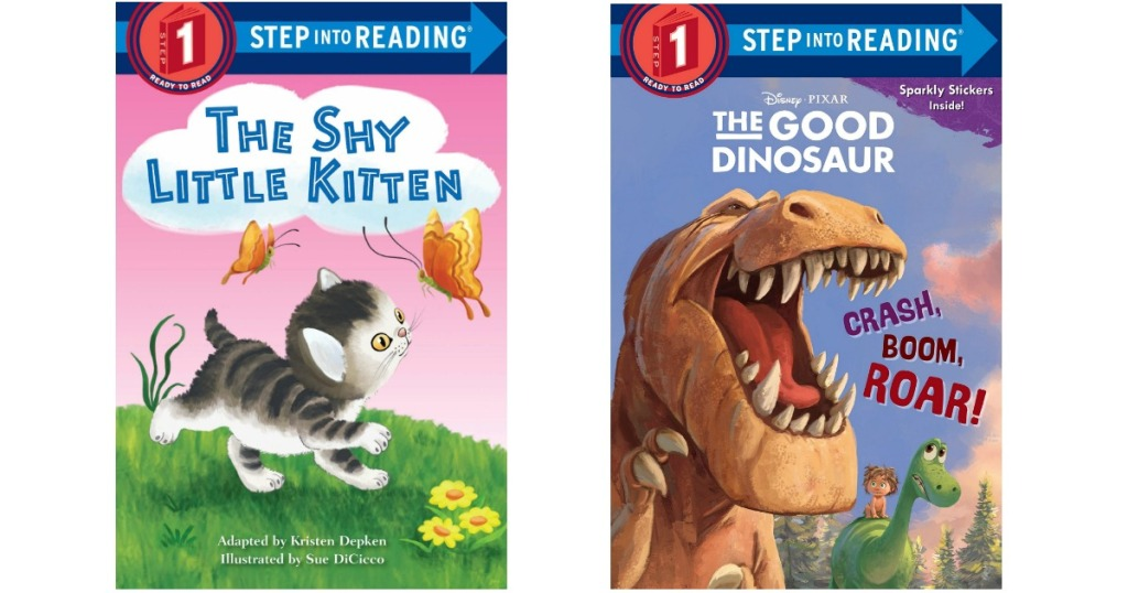 The Shy Kitten The Good Dinosaur Step Into Reading