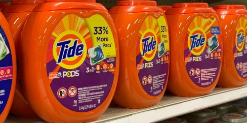 Tide PODS 96-Count as Low as $16 Shipped at Amazon
