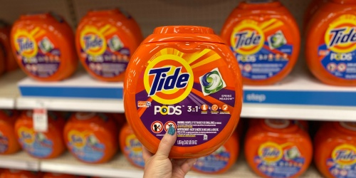 Over 50% Off Tide & Downy at Target (Just Use Your Phone)