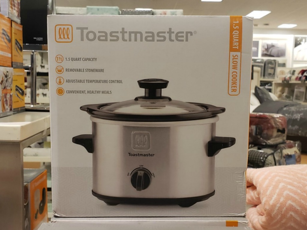 Mini Slow Cooker in package on display at Kohl's