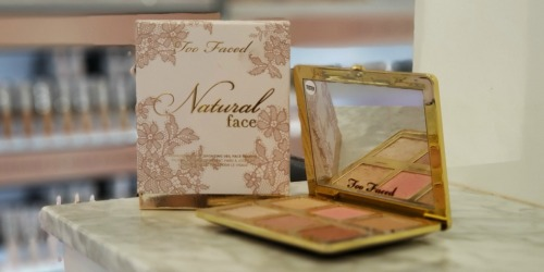 50% Off Too Faced Natural Palettes + Free Shipping on Sephora.com