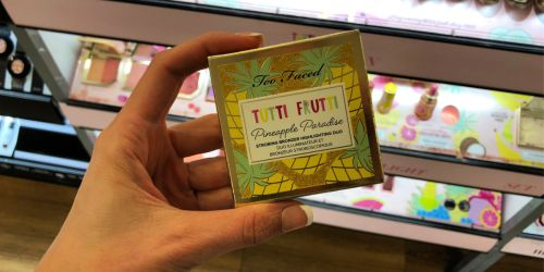 40% Off Too Faced Tutti Frutti Collection | Primer, Palettes, & More