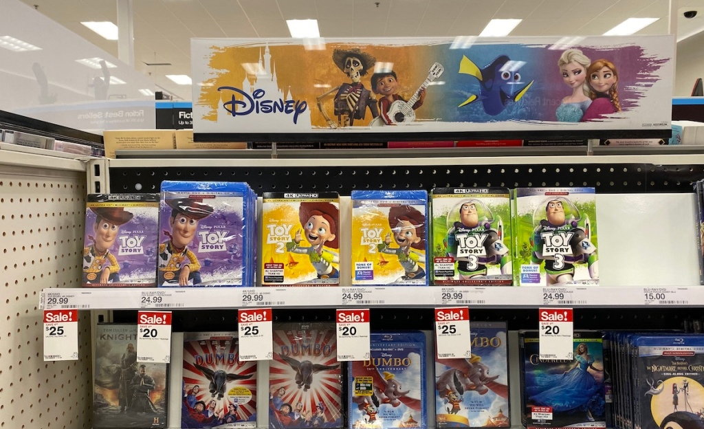 Toy Story Movies at Target