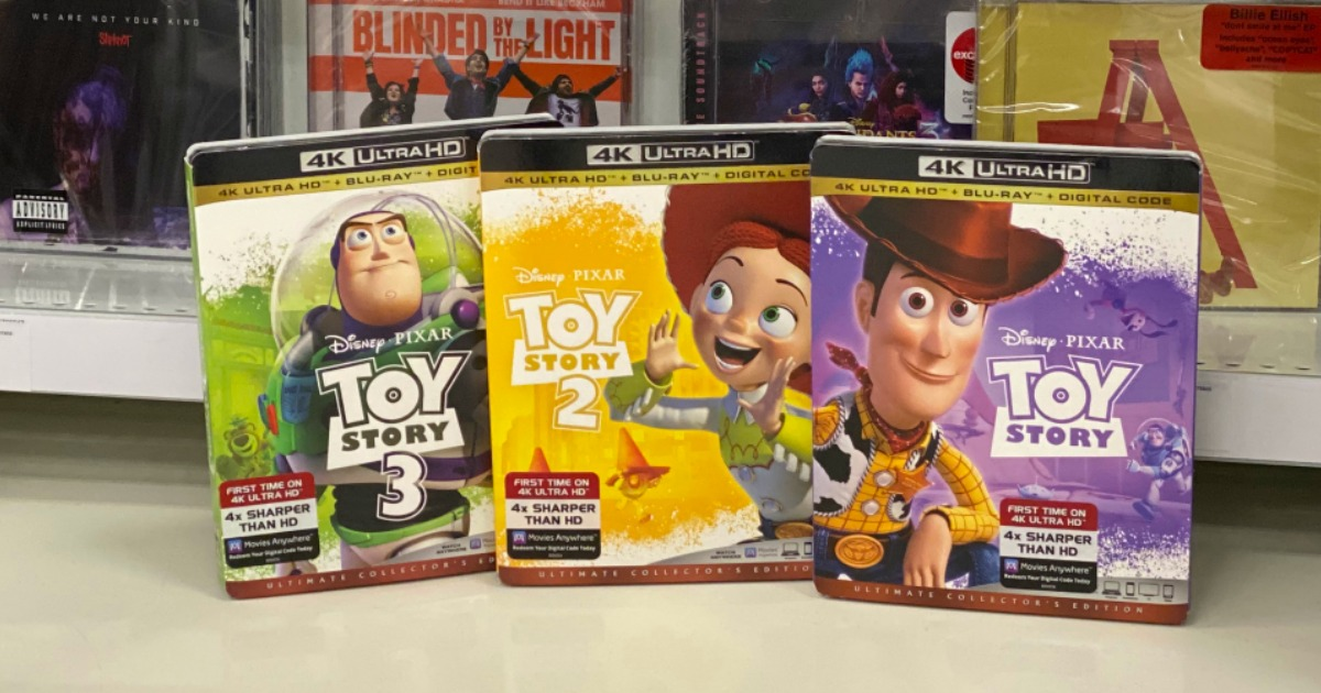 Buy Two, Get One Free Movies, Books & More at Target (In-Store & Online)