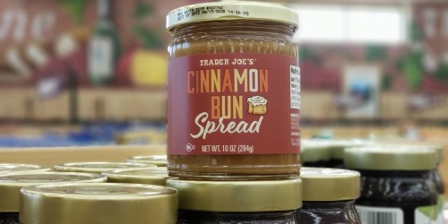 Trader Joe's Cinnamon Bun Spread Available for Limited Time Only