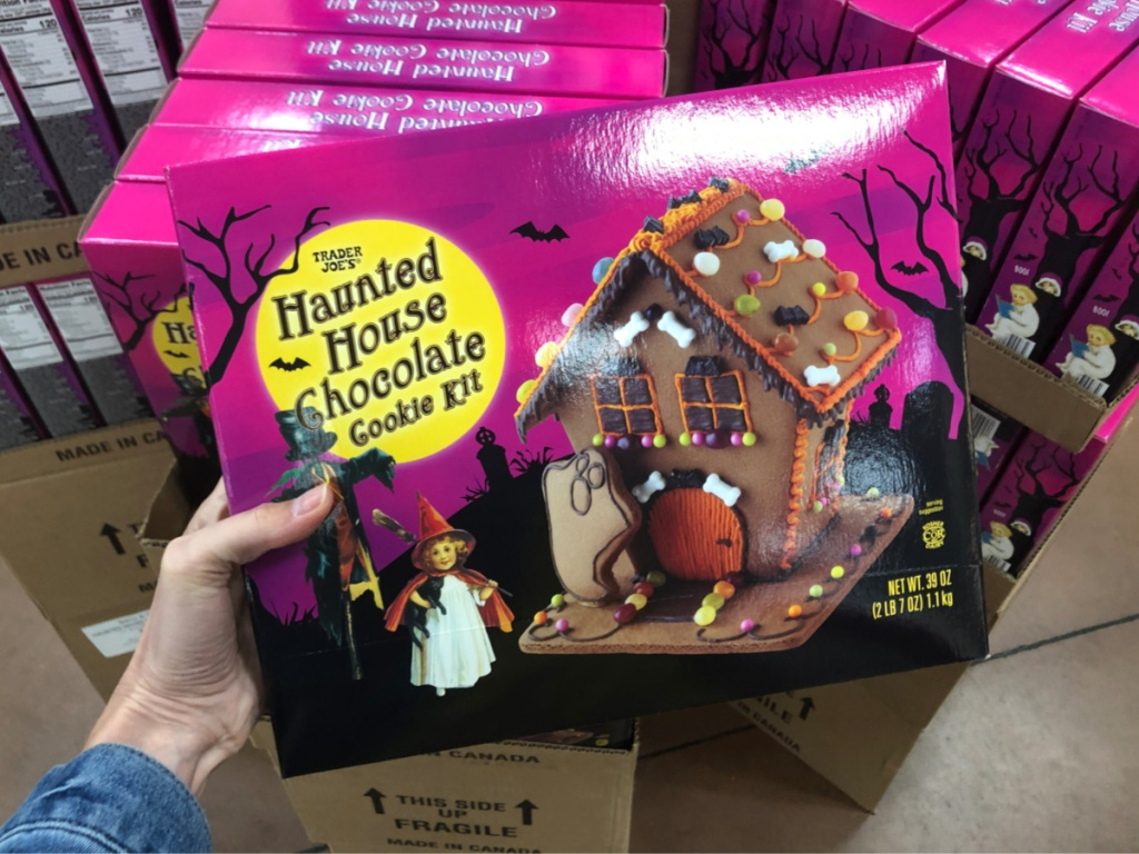 Trader Joe's Haunted House Chocolate Cookie Kit