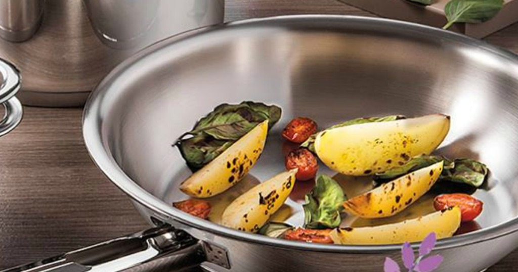 Tramontina Stainless Steel Gourmet 12 Quot Frying Pan Just 15