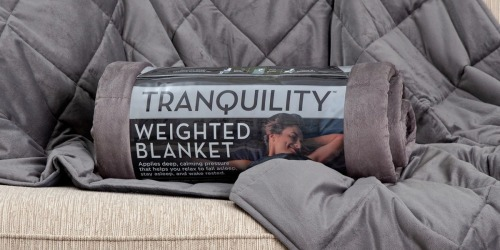 Tranquility Weighted Blankets as Low as $25.50 Shipped at Target (Regularly $49)