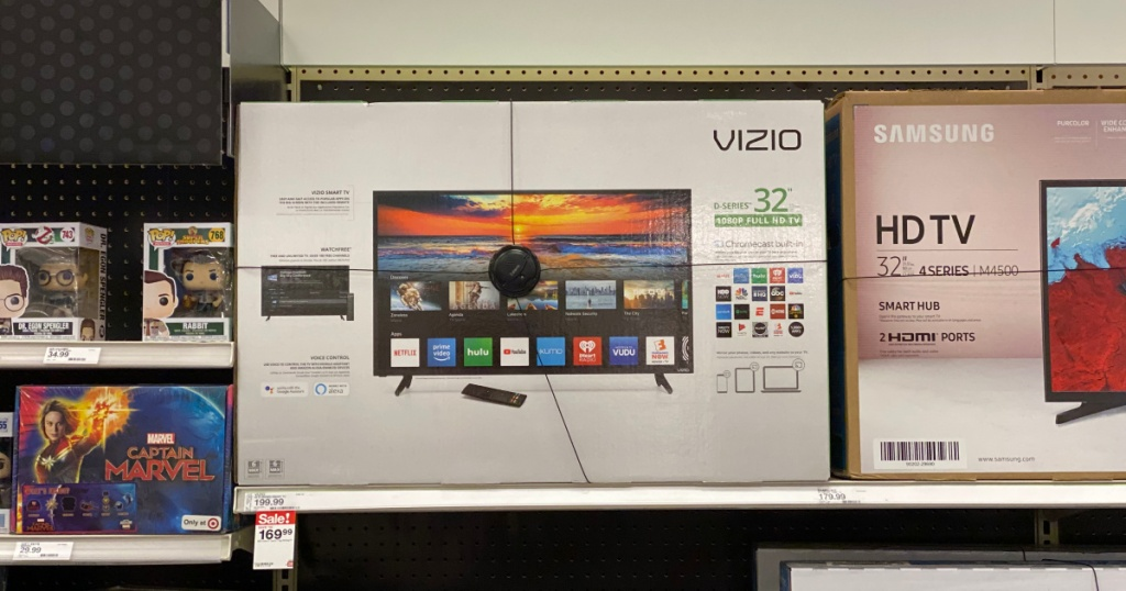vizio led smart tv at target