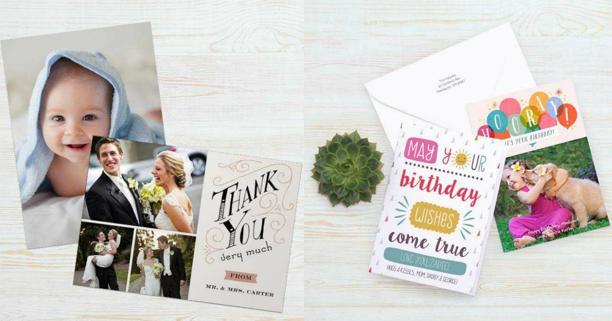 Walgreens Personalized Cards
