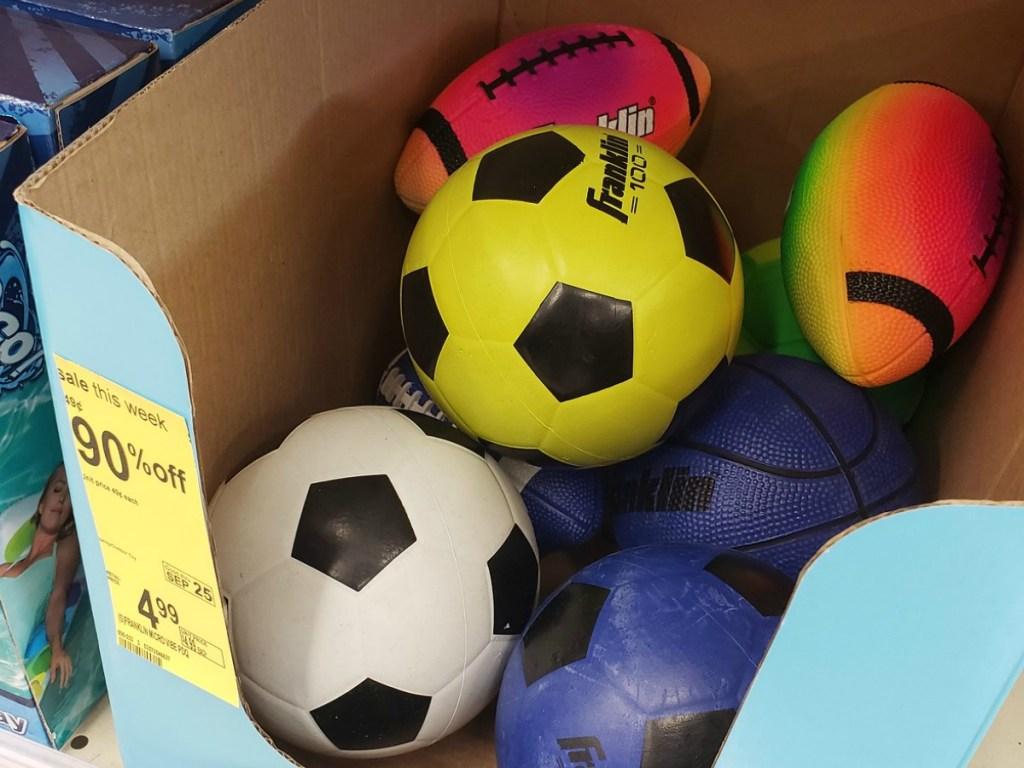 Walgreens Micro Sports Balls