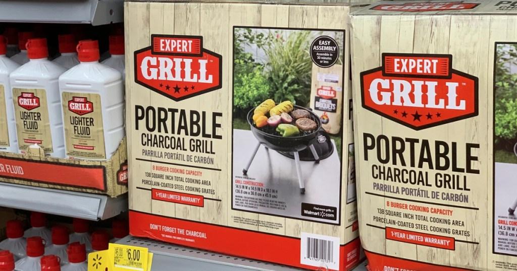 Walmart Portable Charcoal Grill
