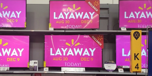Walmart's Holiday Layaway Service Available Now | Shop Early & Get More Time to Pay