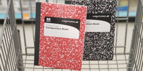 Wexford Composition Books Only 74¢ at Walgreens + More