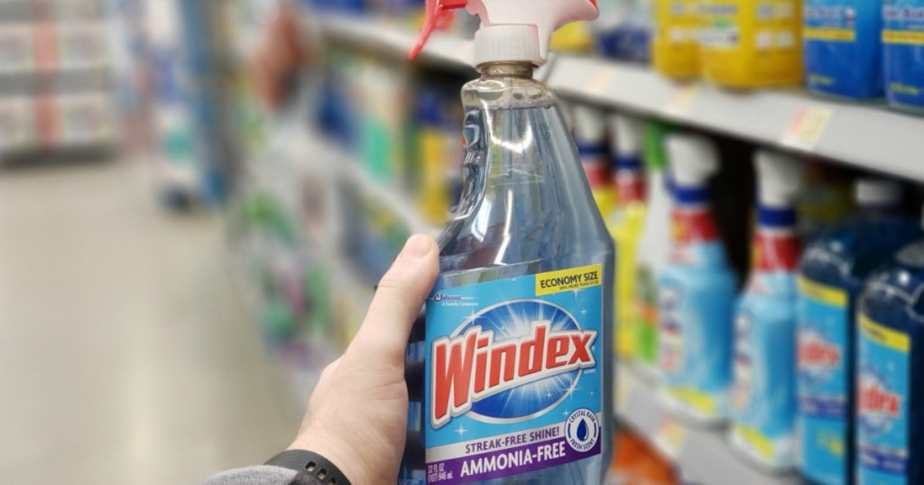 Windex Glass Cleaner Ammonia Free