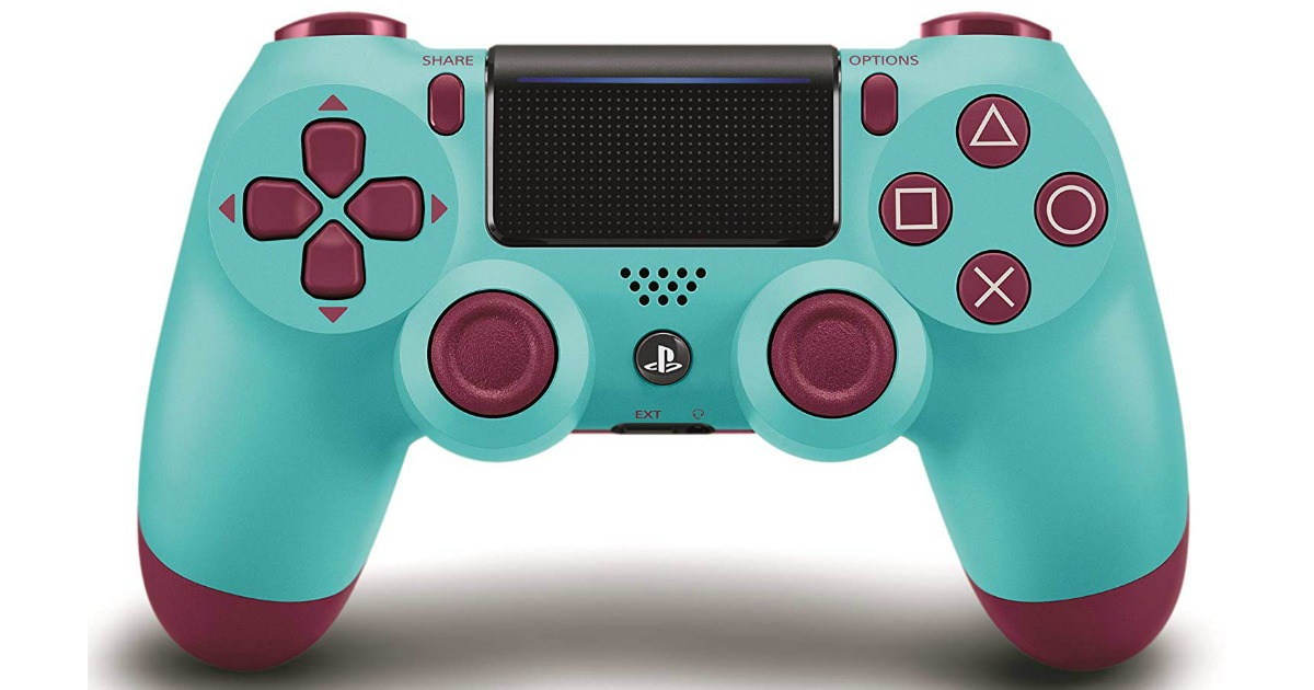 Dualshock Wireless Bluetooth Controller for PlayStation 4 in Berry Blue