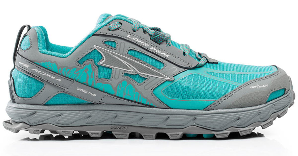 womens teal altra sneakers