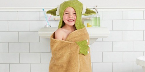 Disney Kids Hooded Bath Towels Just $5.64 Each at Kohl's (Regularly $22)