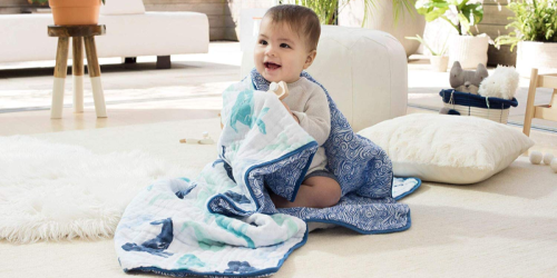 Up to 50% Off Baby Brands on Amazon | Aden + Anais Blankets, Natural Baby Wash, & More