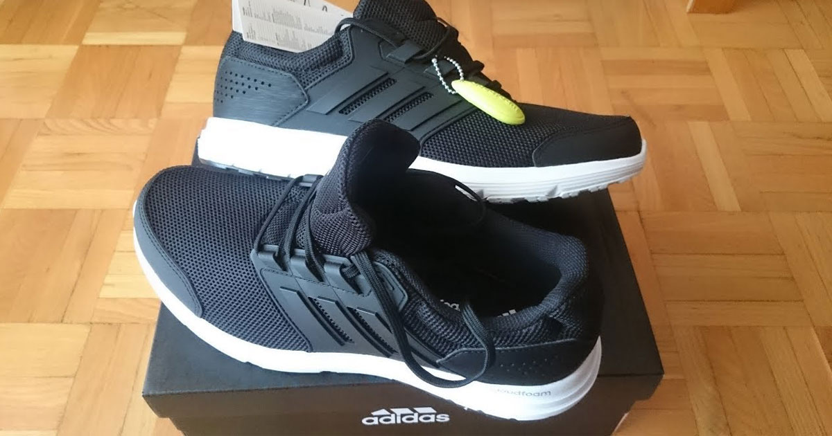Adidas Shoes on box