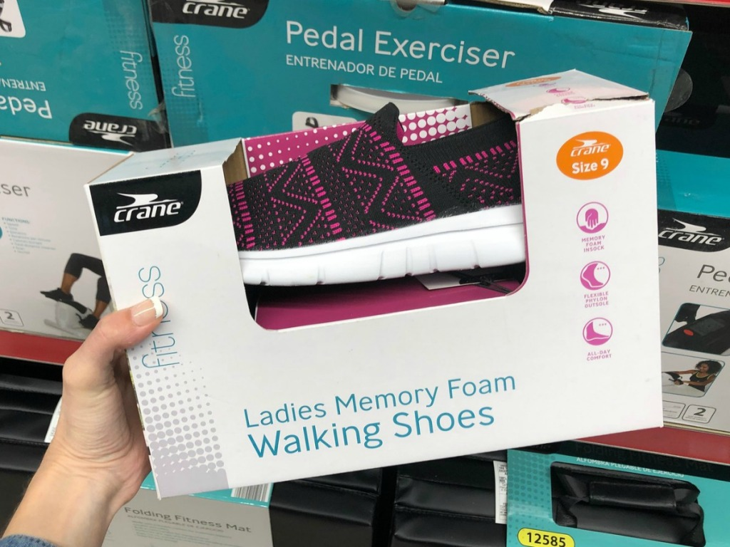 aldi memory foam walking shoes