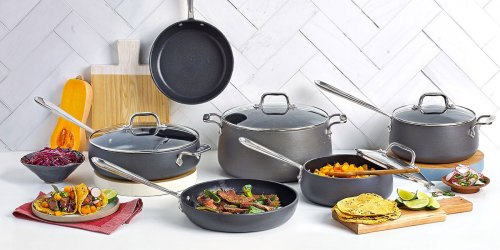 Over 50% Off All-Clad Hard Anodized Cookware at Macys.com
