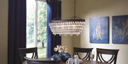 Up to 75% Off Vanity Lighting & Chandeliers at Lowe's
