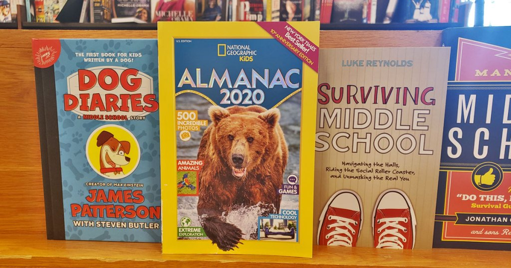 New York Times Best Sellers 2020.National Geographic Kids Almanac 2020 Just 7 49 New York