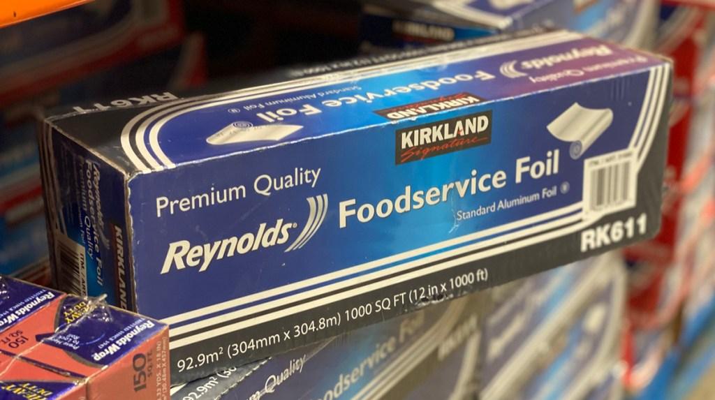 costco kirkland signature aluminum foil