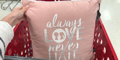 25% Off Inspirational Throw Pillows at Target.com